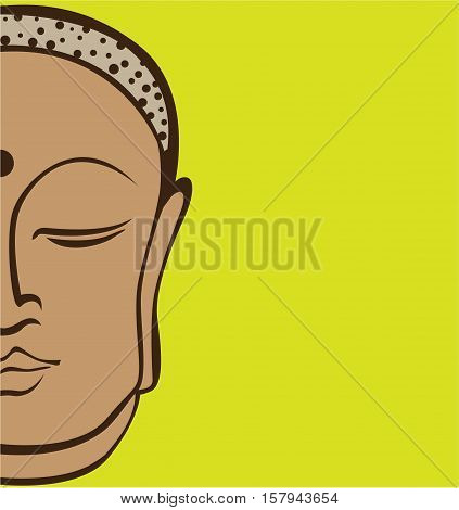 Buddha vector illustration image clip-art eps file