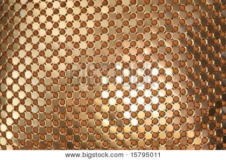 Golden links texture.