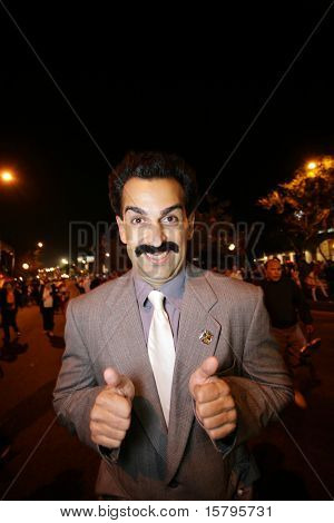 Borat in Los Angeles