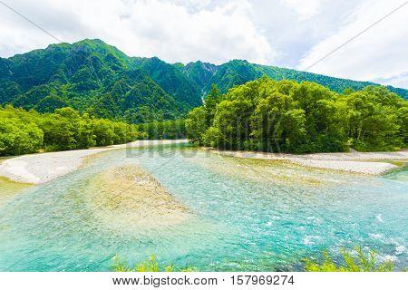 Kamikochi Nature Landscape Japanese Alps H