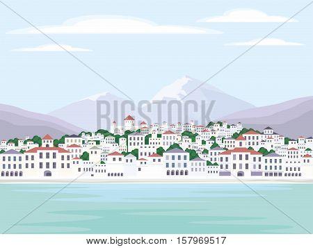 Southern European Town.eps