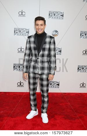 LOS ANGELES - NOV 20:  Gabriel Conte at the 2016 American Music Awards at Microsoft Theater on November 20, 2016 in Los Angeles, CA