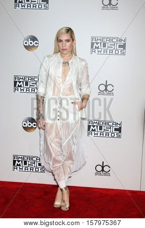 LOS ANGELES - NOV 20:  Skylar Grey at the 2016 American Music Awards at Microsoft Theater on November 20, 2016 in Los Angeles, CA