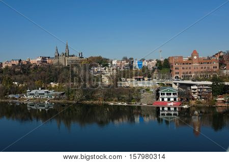 Washington DC - Georgetown and Potomac River