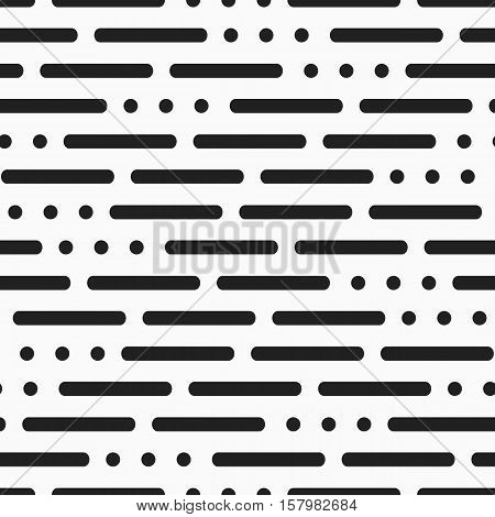 Modern Background With Lines And Dots On A White Background