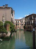 Venice - This picturesque corner of the Fondamenta Malcanton poster