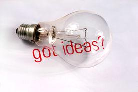 Got Ideas And Lightbulb