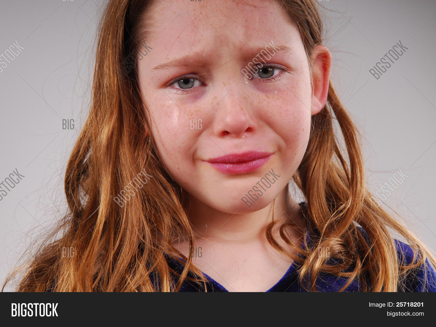 Young Girl Crying Image  Photo Free Trial  Bigstock-4769