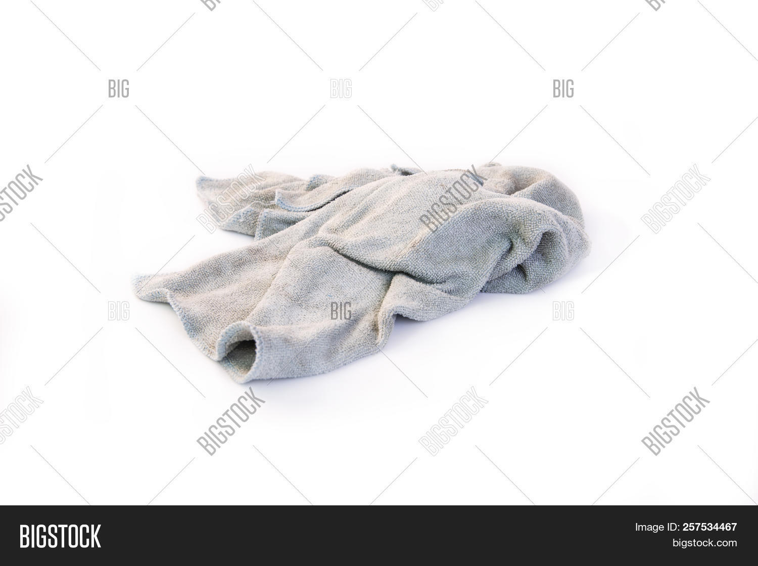 fb56a01ab4d0e Old Dirty Rag Isolated Image & Photo (Free Trial) | Bigstock