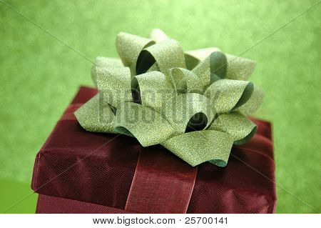 Elegant Red Gift Box