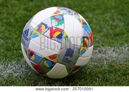 Official Match Ball Of Uefa Nations League 2018/2019