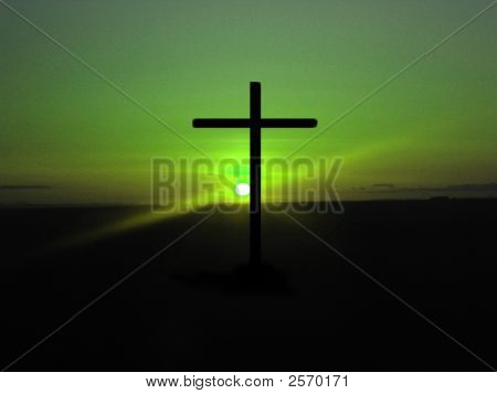 Green Sky Cross