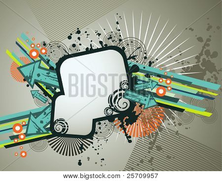 enjoy banner vector illustration