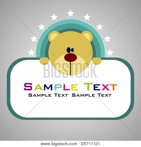 Bear Vector Illustrator