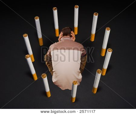Vicious Circle Of Smoking