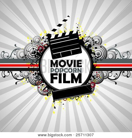 Film colorful background.