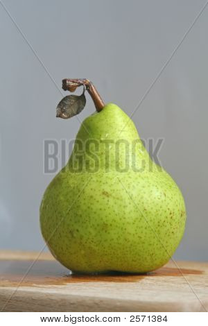 Solitary Pear
