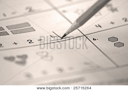 Children's Mathematics Exercise