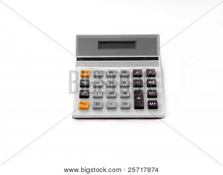 Calculator in Isolation with Blank Screen