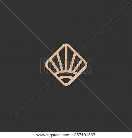 Abstract Vetor Logo Sun Vector Design. Sign For Business, Nature, Environment, Field, Farm, Agrocult