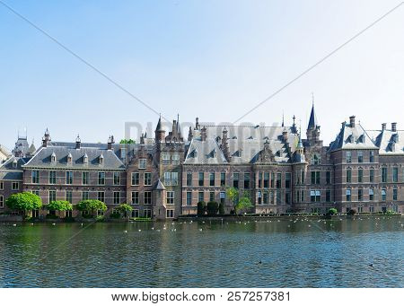 View Of Binnenhof - Dutch Parliament Building, The Hague, Holland Netherlands