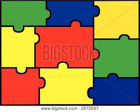 Jigsaw Hintergrund