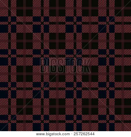 Seamless Red Black Vector Photo Free Trial Bigstock