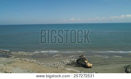 Construction Of Coastal Protective Structures, Construction Of Structures To Protect Against Sea Wav