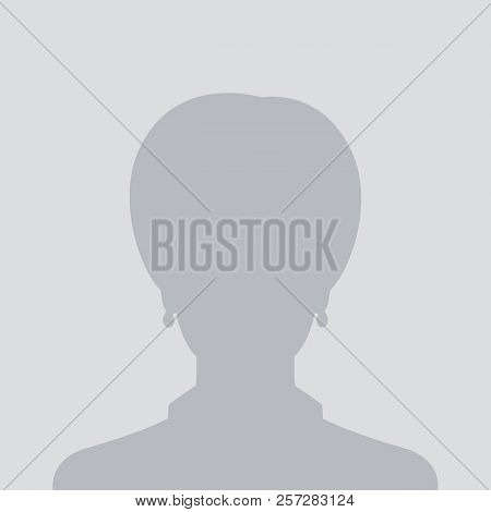 profile placeholder, default female avatar, eps 10 file, easy to edit poster