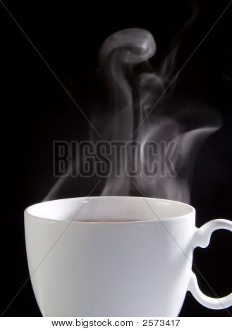 Coffee Cup With Smoke