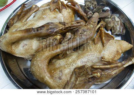 Boiled Duck One Of The Favourite Food For Chinese Ghost Festival And Other Festivel In Chinese Peopl