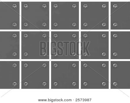 Grey Metallic Tablets