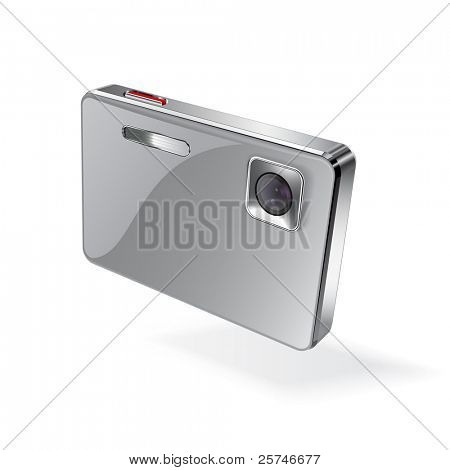 Digital camera, vector