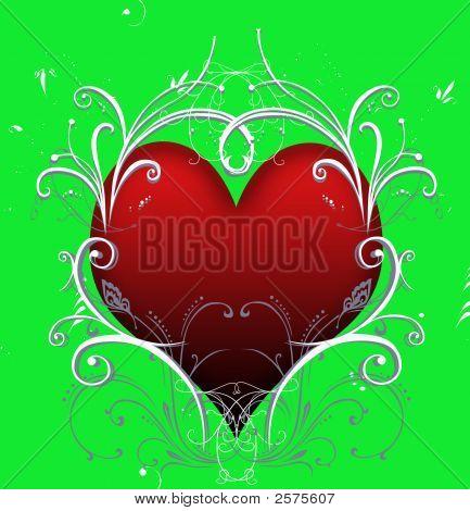 Heart Swirls