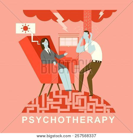 Psychotherapy Concept Vector Photo Free Trial Bigstock