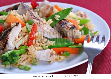 Chicken Stir Fry Rice
