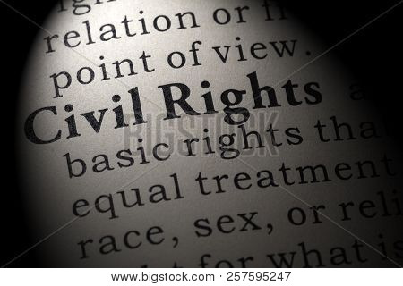 Fake Dictionary, Dictionary Definition Of The Word Civil Rights . Including Key Descriptive Words.