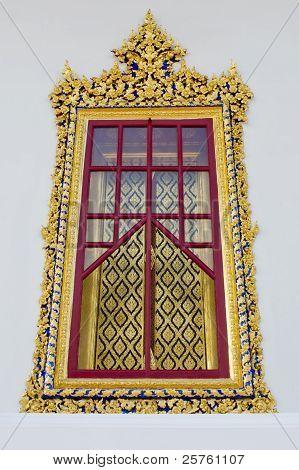 Golden Temple Window