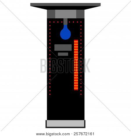 Isolated Arcade Punch Vector Photo Free Trial Bigstock