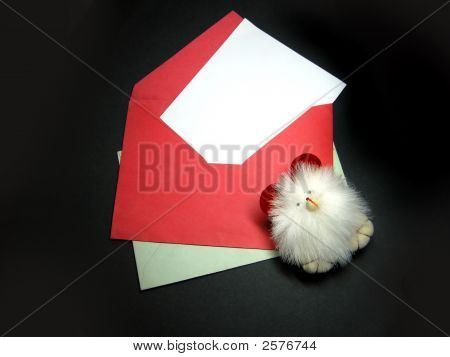 Envelopes, Blank Space For Your Text