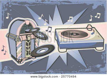 Vintage Music graphic