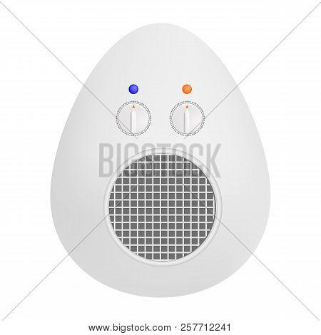 Portable Fan Icon. Realistic Illustration Of Portable Fan Icon For Web