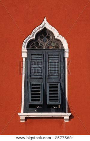 Venice Italy beautiful shuttered window