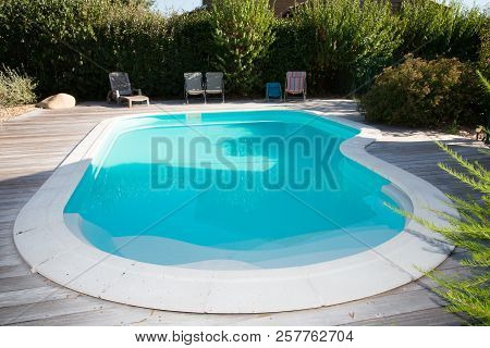Private Swimming Pool In House Garden Home