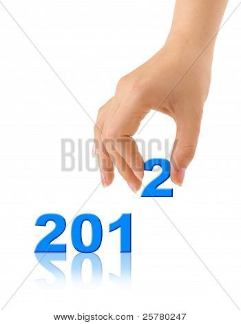 Numbers 2012 And Hand