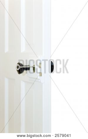 Open Old Door