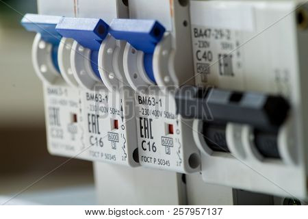 The Circuit Breaker Switch, Selective Main Circuit Breaker For Voltage Switchboard, Automatic Circui