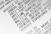 itemized discounts for car insurance poster