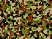 Textured British Nato Camo in Large Size. poster