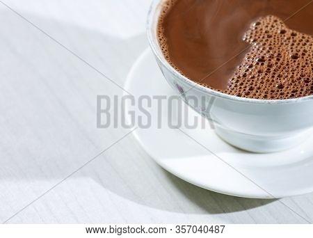 Hot Chocolate Drink - Theobroma Cacao. Colombian Drink